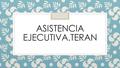 Freelancer ASISTENCIA E. Y. P. T.