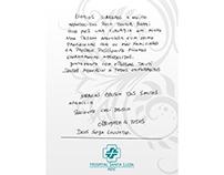 Projeto de Agradecimento de paciente a médico. Banner