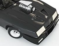 V8 Interceptor Mad Max (proyecto personal)