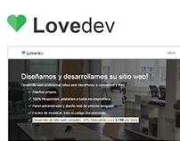Lovedev - Simple One Page.