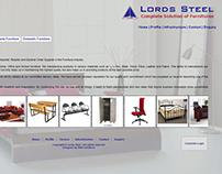 Website Development for Lords Steel