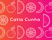 Catia Cunha - Nutritionist Visual Identity