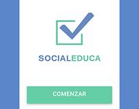SocialEduca - Crossplatform App