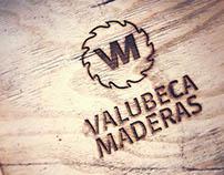 Diseño de Isologotipo . Valubeca Maderas 2016.