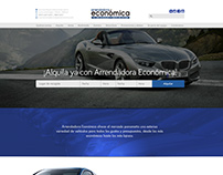 Lading Page Proposal for Car rental site