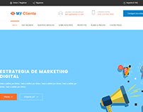 Landing Page - My Cliente