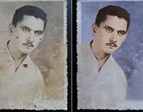 Restauração de Foto Antiga
