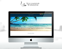 Layout do Site - Empreendimento Villaggio Venezia