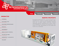 Boceto Pagina Web (Petroinsumos)