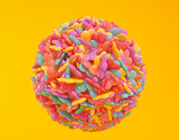Candy Motion Graphics C4D