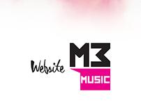 M3 Music - Website