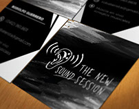 Tarjetas de presentación. The New Sound Session