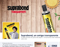 Facebook - Suprabond Transparente