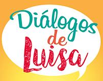 Identidade Visual: Diálogos de  Luisa