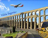 Visit Segovia (Postal)