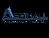 Logotipo para la empresa Aspinall SRL.