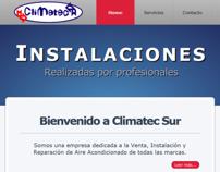 Climatec Sur - Website Design