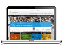 Web design: UNIMET