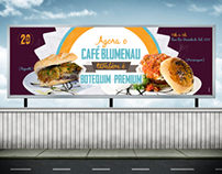 Outdoor Café Blumenau
