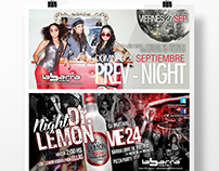 Flyers Redes Sociales - Nightclub Flyers