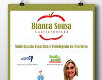 Cartaz - Nutricionista Bianca Sousa