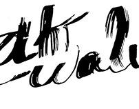 RIKWALU - Lettering