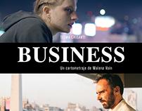 Business (corto) - Cannes Film Festival. Poster Design.