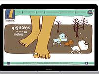 Diseño Web - Comunidad Tehuelche