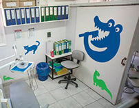 Alberdi Hospital's pediatric zone