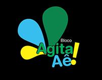 Identidade Visual - Bloco  de Carnaval - Agita Aê