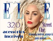 Capa da revista Elle - Edição de inverno