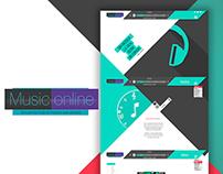 Music Online - Web Desing