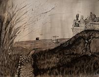 Ilustración para la mujer del bosque