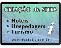 Criação de Sites, Hotel, Jornal