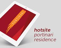 Hotsite Portinari Residence