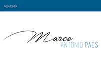 Logo - Marco Antonio Paes