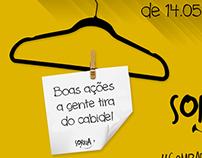 Campanha de agasalho - Projeto Sorria