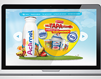 Actimel Argentina Website