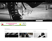 EDGY Blog Layout