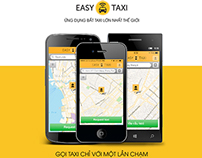 Easy Taxi Vietnam's banner designs