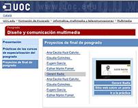 Web Posgrado UOC