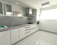 kitchen 3d renderings