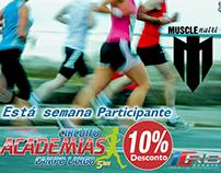 Campanha Publicitaria Circuito de academias.