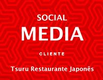 Social Media - Tsuru Restaurante Japonês