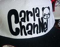 Logo Snapback Carla ChanNel