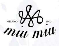 Miu Miu -Rebrand