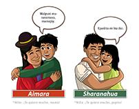 Ilustraciones para el Ministerio de Cultura del Perú