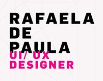 Currículo - Rafaela de Paula