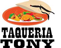 IMAGOTIPO TAQUERIA TONY