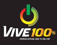 Lanzamiento Interno Vive100%, 2014